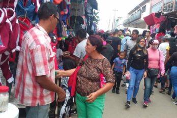 Calles y mercados de Ciudad Guayana abarrotados este 31D