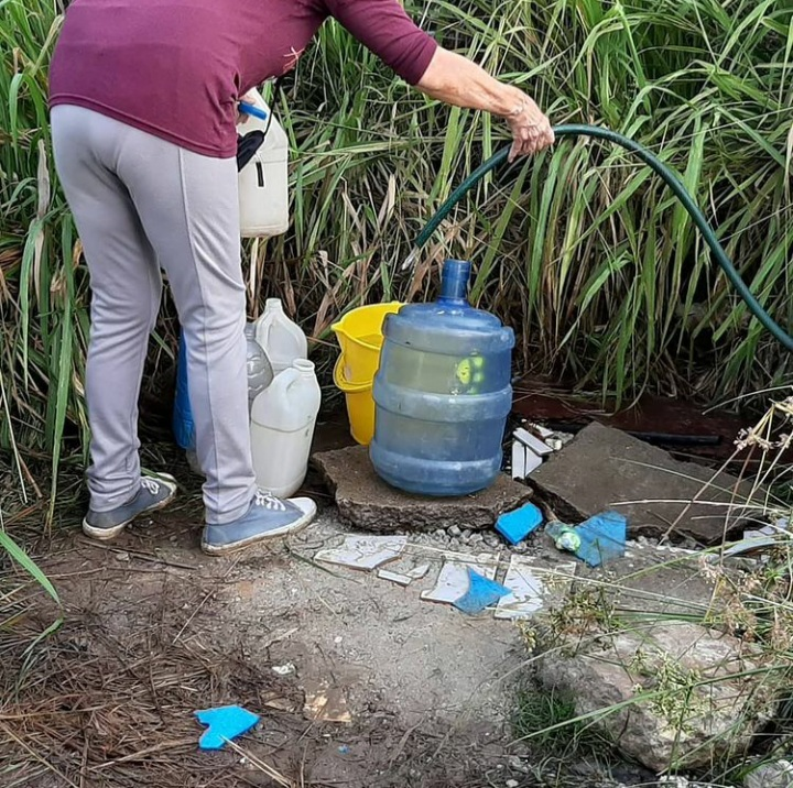 Habitantes de Alta Vista Norte protestaron por agua potable