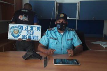 Arrestados por robo a transeúnte en Los Olivos