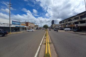 Poco tránsito vehicular en Ciudad Guayana este lunes
