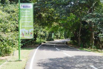 Piden cumplir medidas de bioseguridad en el Parque La Llovizna