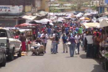 Gran afluencia en mercados de Caroní