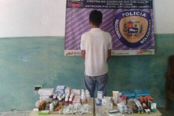 PNB decomisa medicinas e insumos de origen extranjero