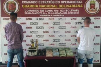 Implicados en la compra ilegal de oro en Caicara del Orinoco