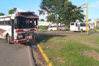 Colisión de autobuses en San Félix dejó siete lesionados