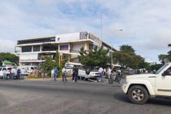Reportaron tres accidentes de tránsito en Puerto Ordaz