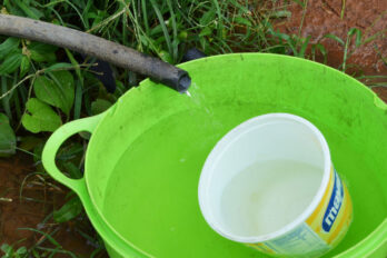 Amanecieron sin agua en Villa Brasil