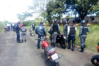 Aclaran que lo ocurrido en Guaiparo fue un procedimiento policial