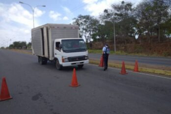 Alertan sobre presencia de encapuchados en la vía La Viuda-Puerto Ordaz