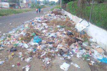 Guaparito entre basura y falta de gas doméstico