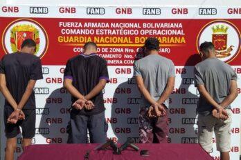 Militares capturan a integrantes de la banda las Orquídeas