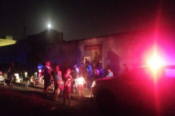 Desalojados cuando intentaban invadir terreno en San Rafael