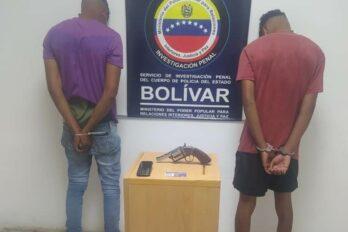 Presos por robar el bolso a un transeúnte en Villa Sicilia