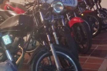PEB retiene 10 motos en operativos