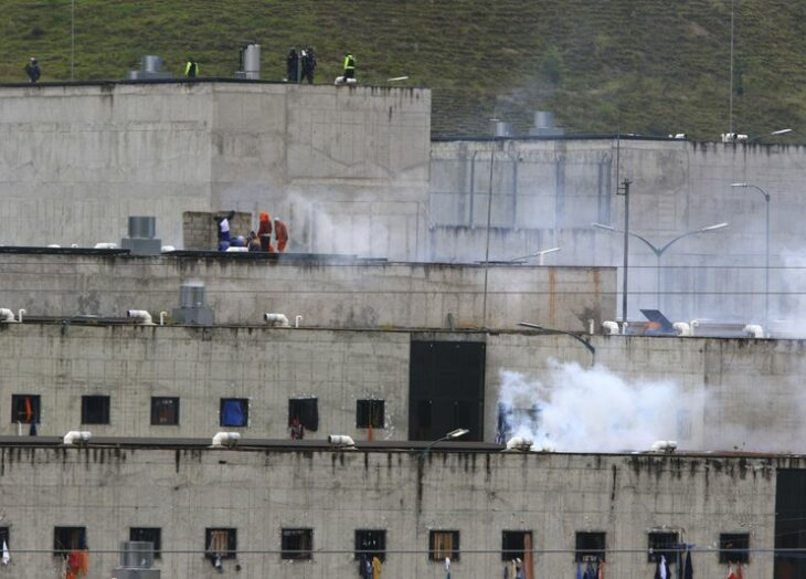 79 muertos en amotinamientos en cárceles — Ecuador