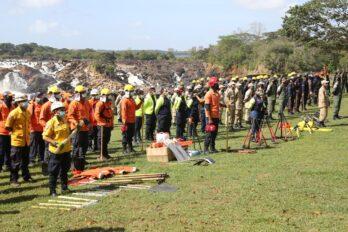 Instalación del Comando Unificado Contra Incendios Forestales