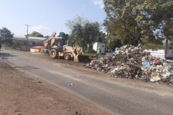 Recogieron basurero en avenida Constitución de El Roble Por Fuera