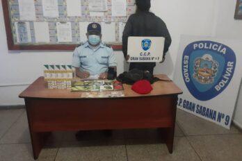 Agredió a una oficial mientras lo requisaban en Gran Sabana