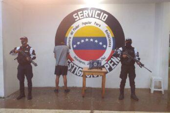 Capturado con una escopeta en Colinas de Unare