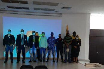 Representantes de la comunidad guyanesa se reunieron con organismos de seguridad