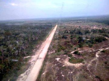 Cinco pistas clandestinas fueron destruidas en Zulia