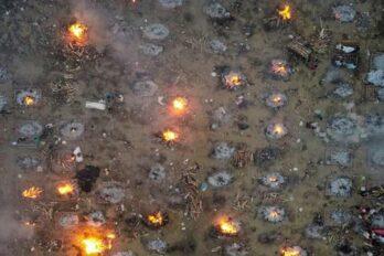 Cremaciones en India