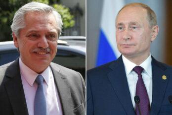 Fernández y Putin
