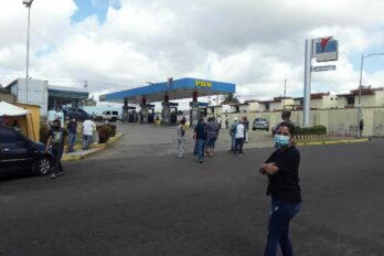 protesta por gasolina