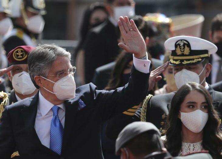 El conservador, Guillermo Lasso, jura como nuevo presidente de Ecuador