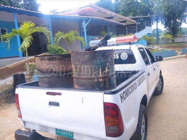 Hallan dos cadáveres parcialmente carbonizados en Carabobo