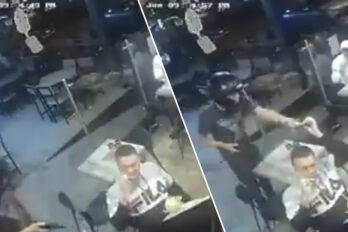 robo en restaurante